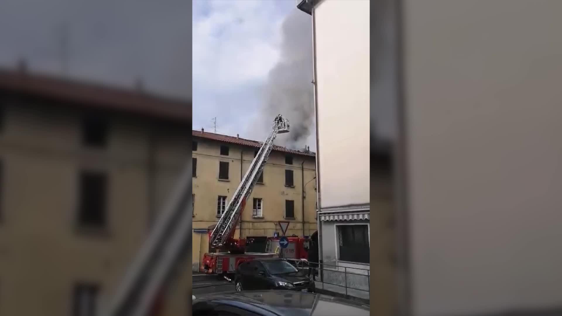 Video: Incendio a Malnate