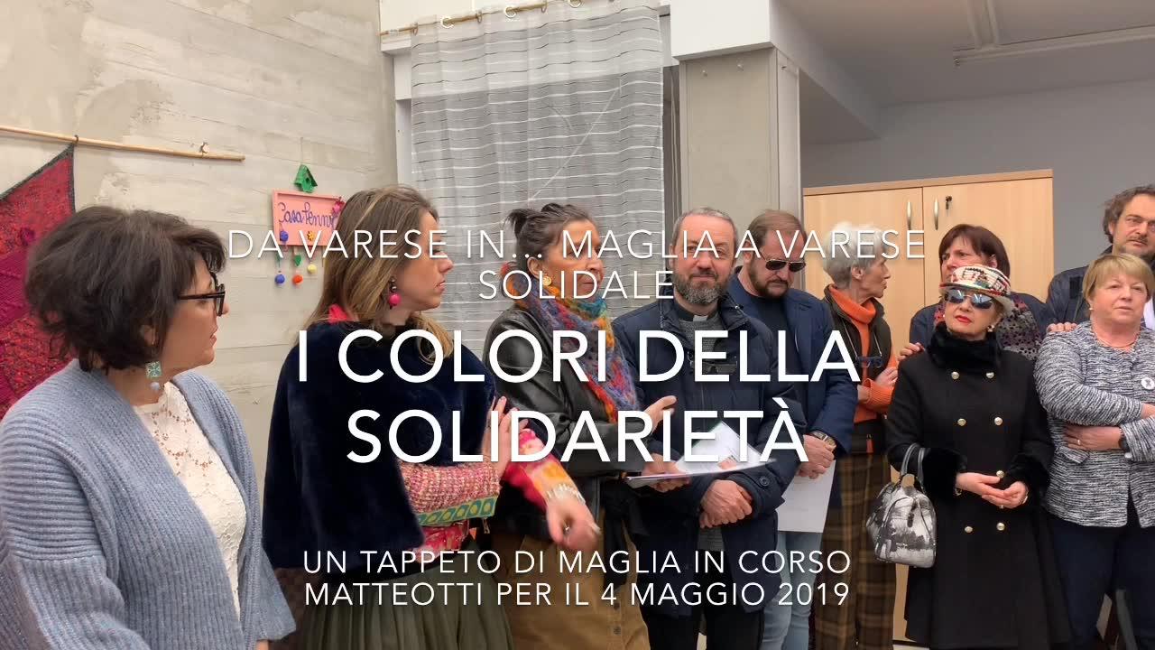 Video: I colori della solidarietà