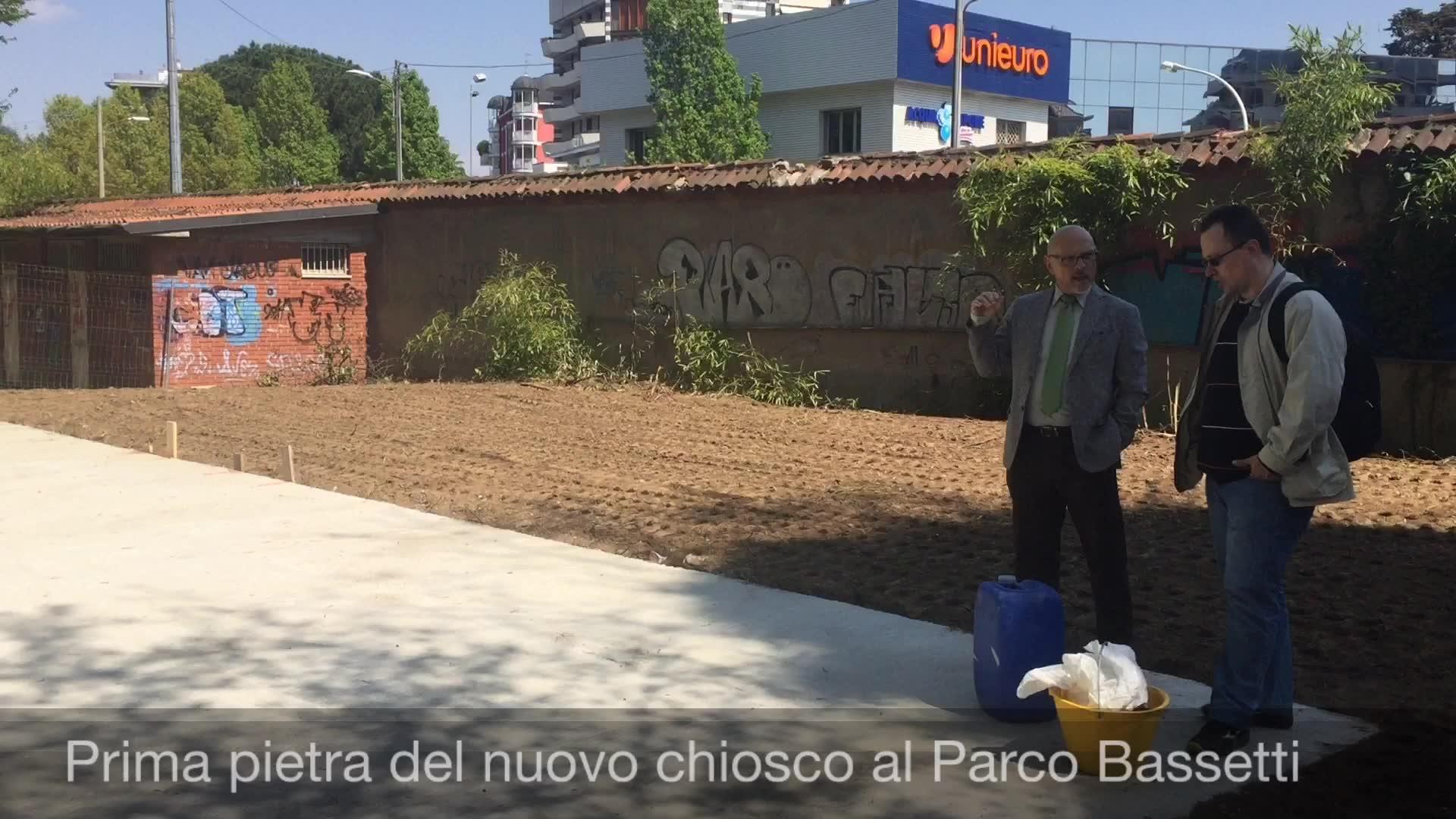 Video: Il nuovo chiosco al parco Bassetti a Gallarate