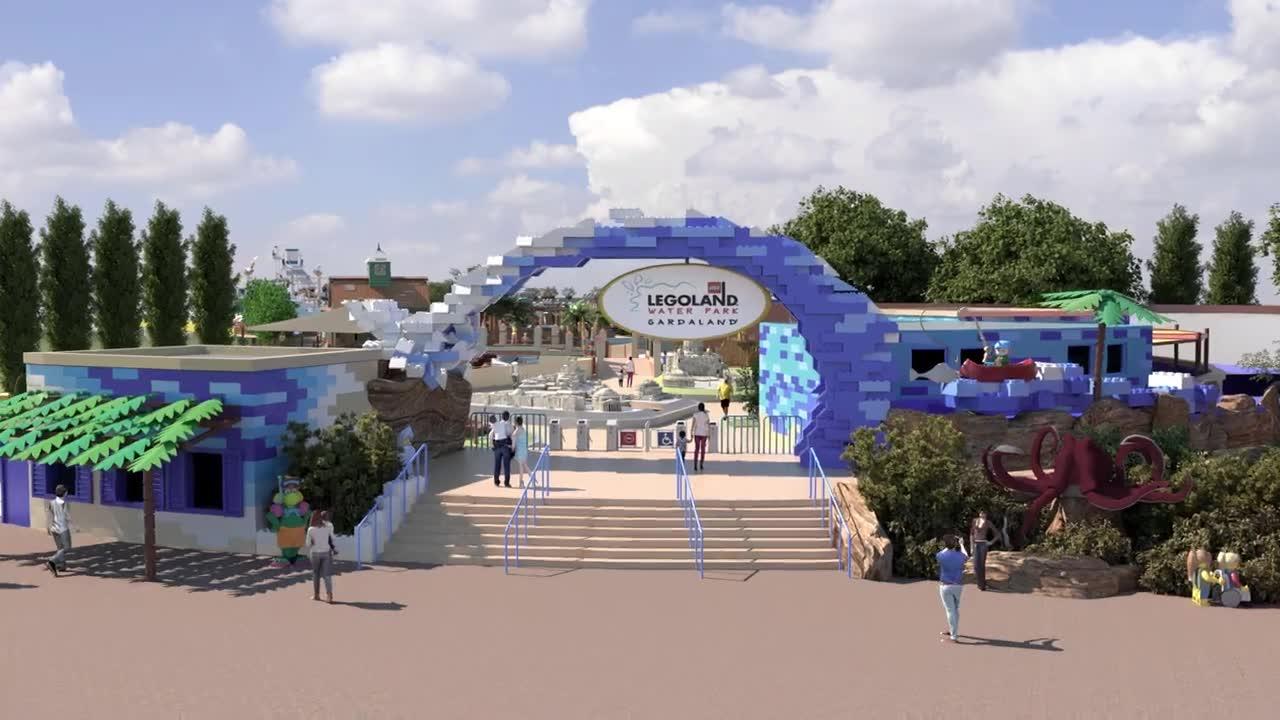 Video: Ecco come sarà il parco acquatico Lego