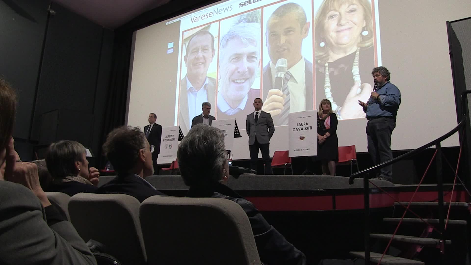 Video: Confronto tra candidati a Tradate