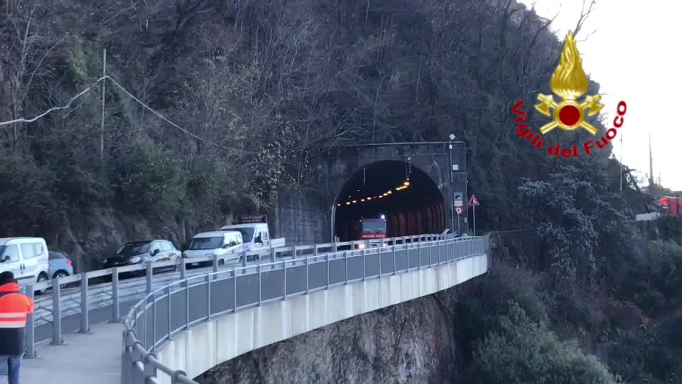 Video: Frana di Maccagno, riaperta la Statale 394