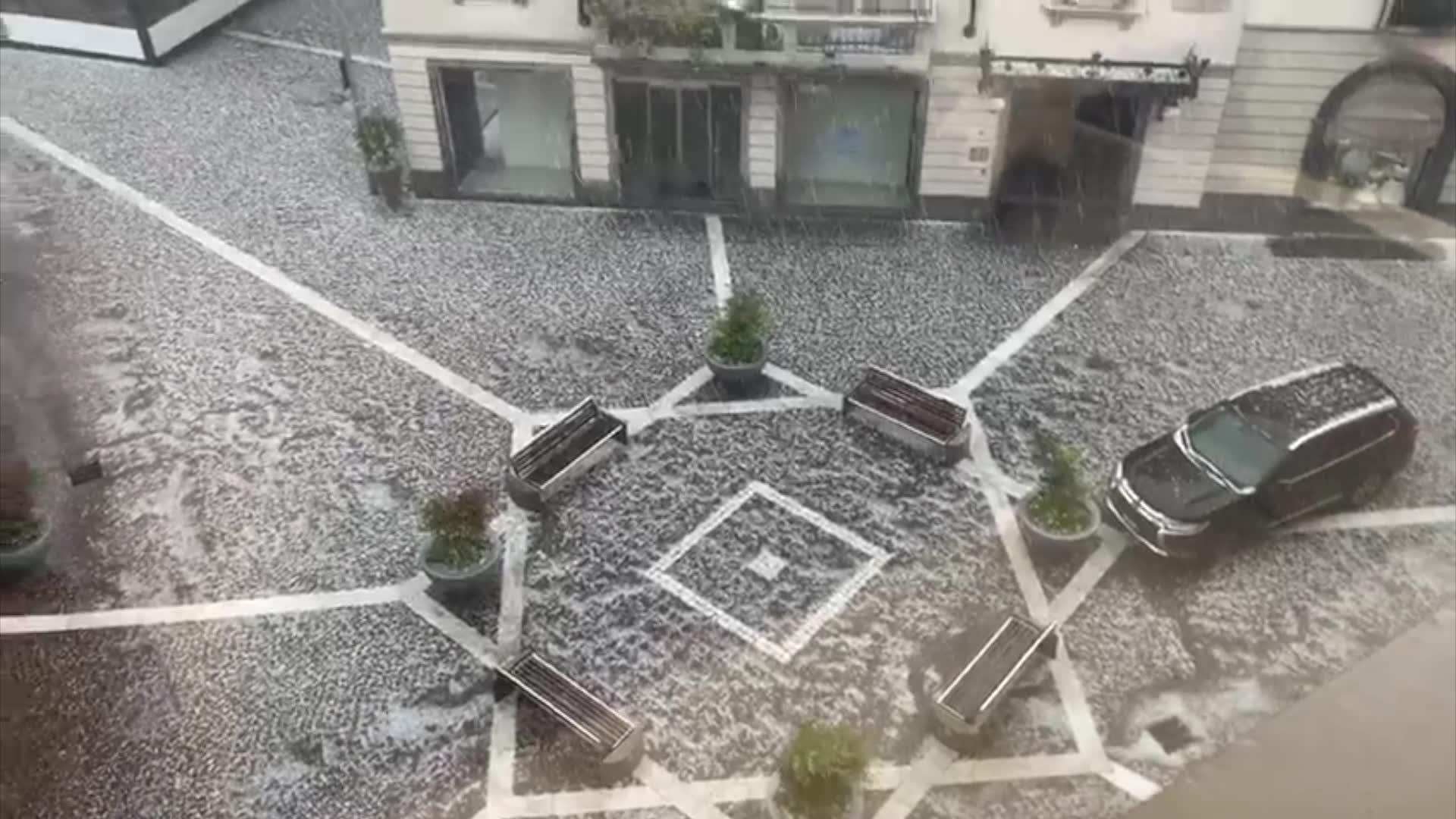 Video: Grandine e temporali nel Varesotto