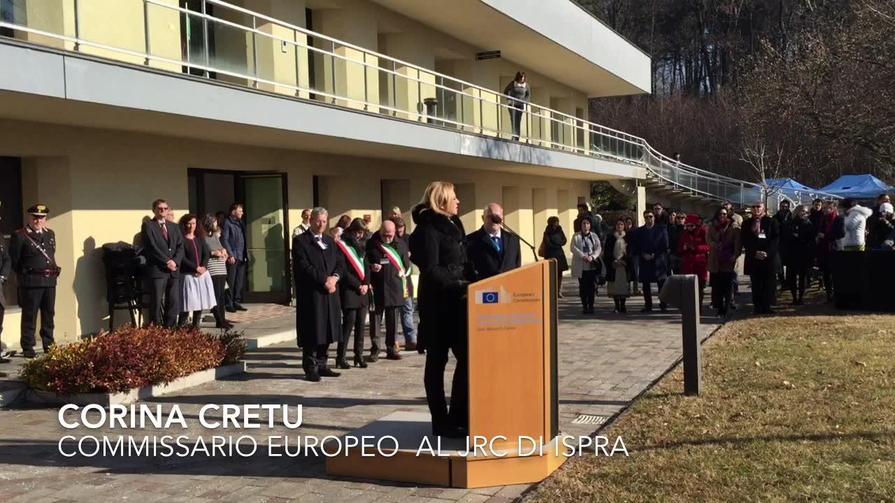 Video: Corina Cretu al Jrc