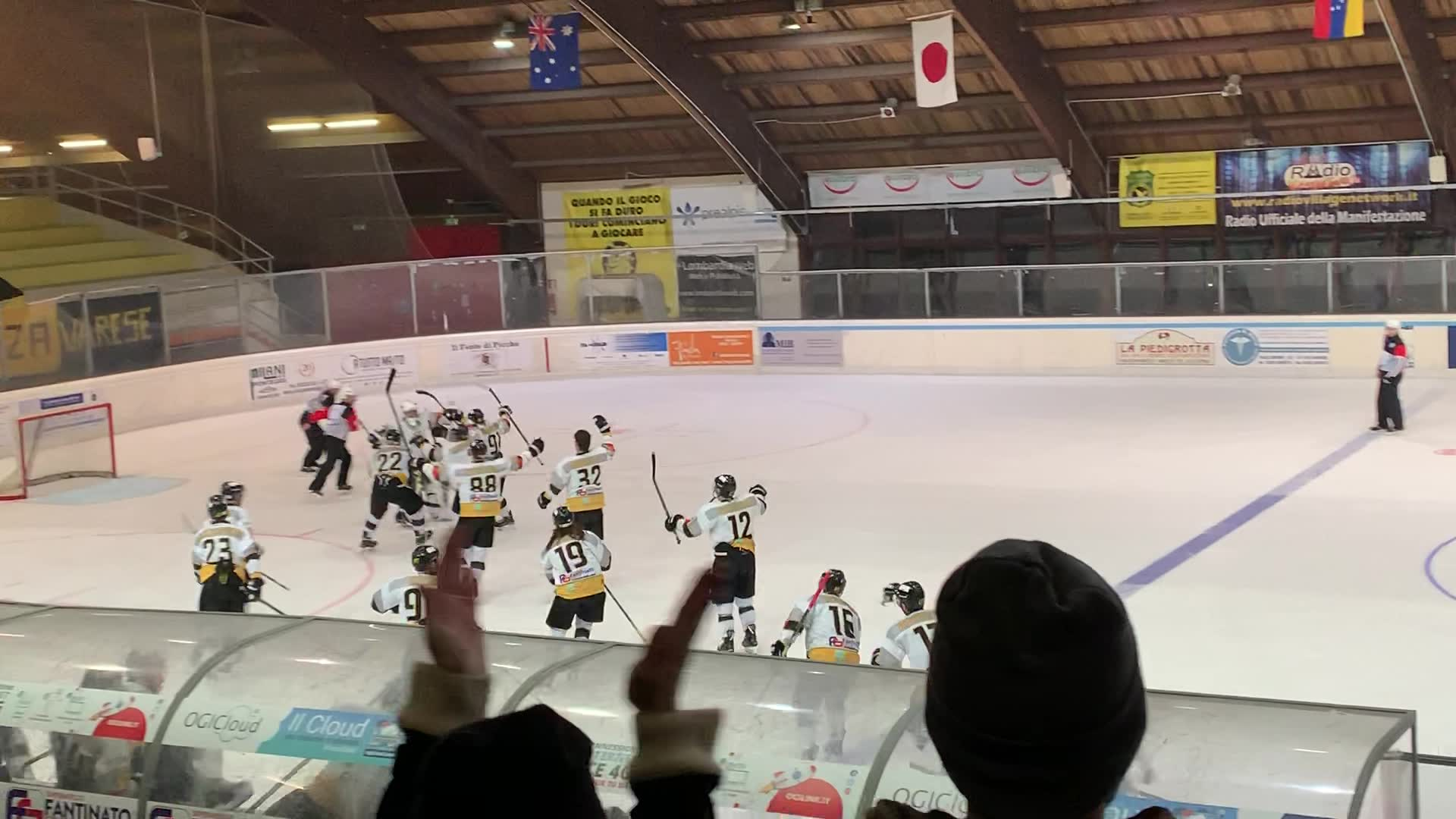 Video: Hockey: la festa dei Mastini dopo la vittoria in Gara2