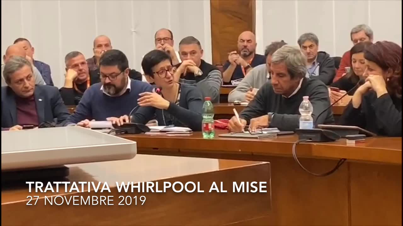 Video: Trattativa Whirlpool