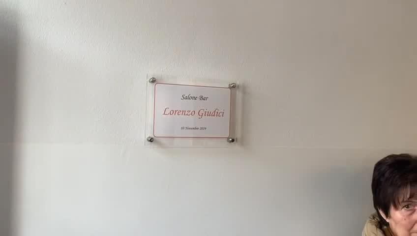 Video: La sala dedicata a Lorenzo Giudici