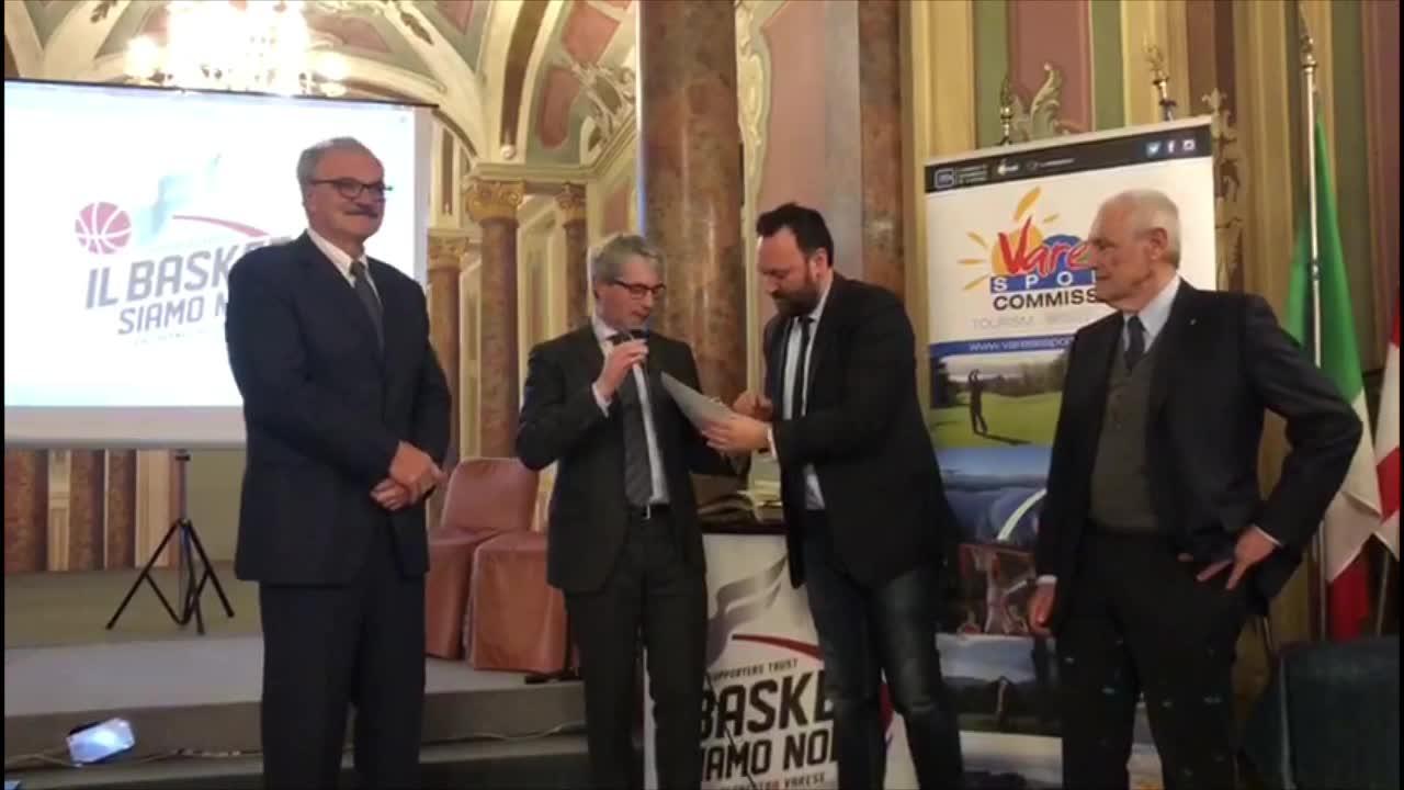 Video: Cittadinanza onoraria varesina a Meo Sacchetti