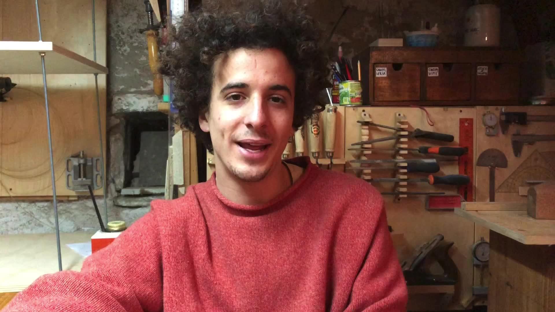 """Video: Il sogno di Paolo: """"Voglio fare il liutaio"""""""