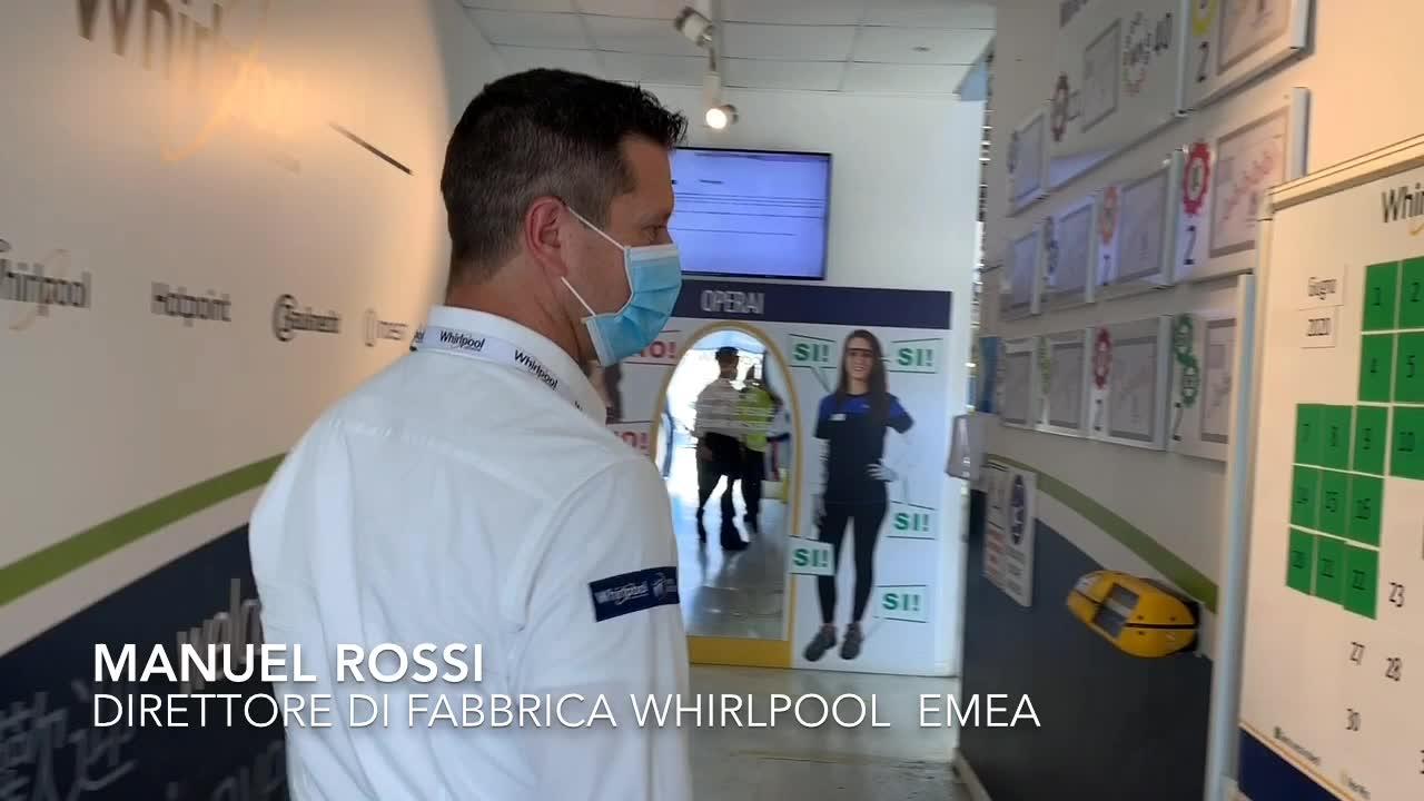 Video: Alla Whirlpool la sicurezza si costruisce in fabbrica