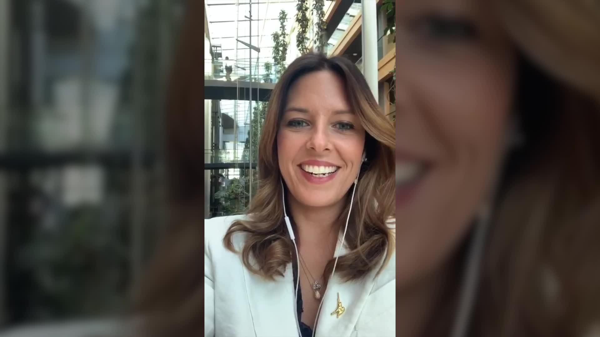 Video: Primo giorno al Parlamento Europeo per Isabella Tovaglieri