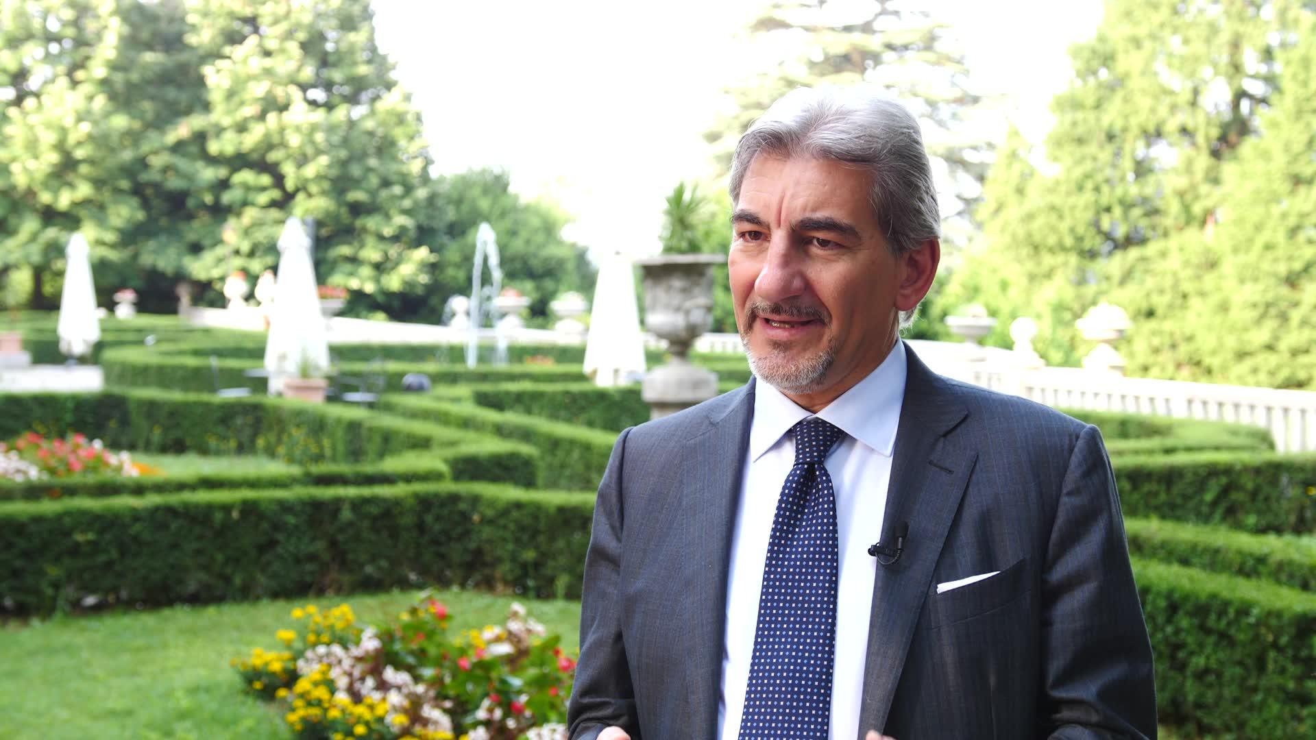 Video: L'assessore Cattaneo commenta l'assegnazione dei giochi olimpici all'Italia