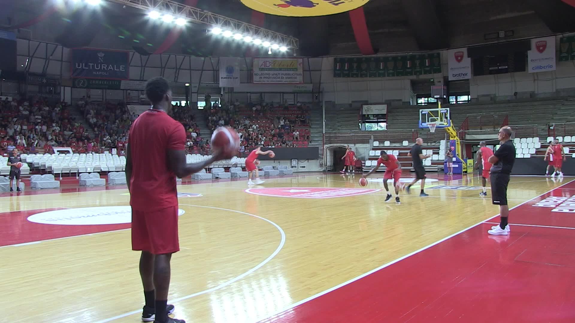 Video: Sandro Galleani: consigli ai giocatori e complimenti ai tifosi