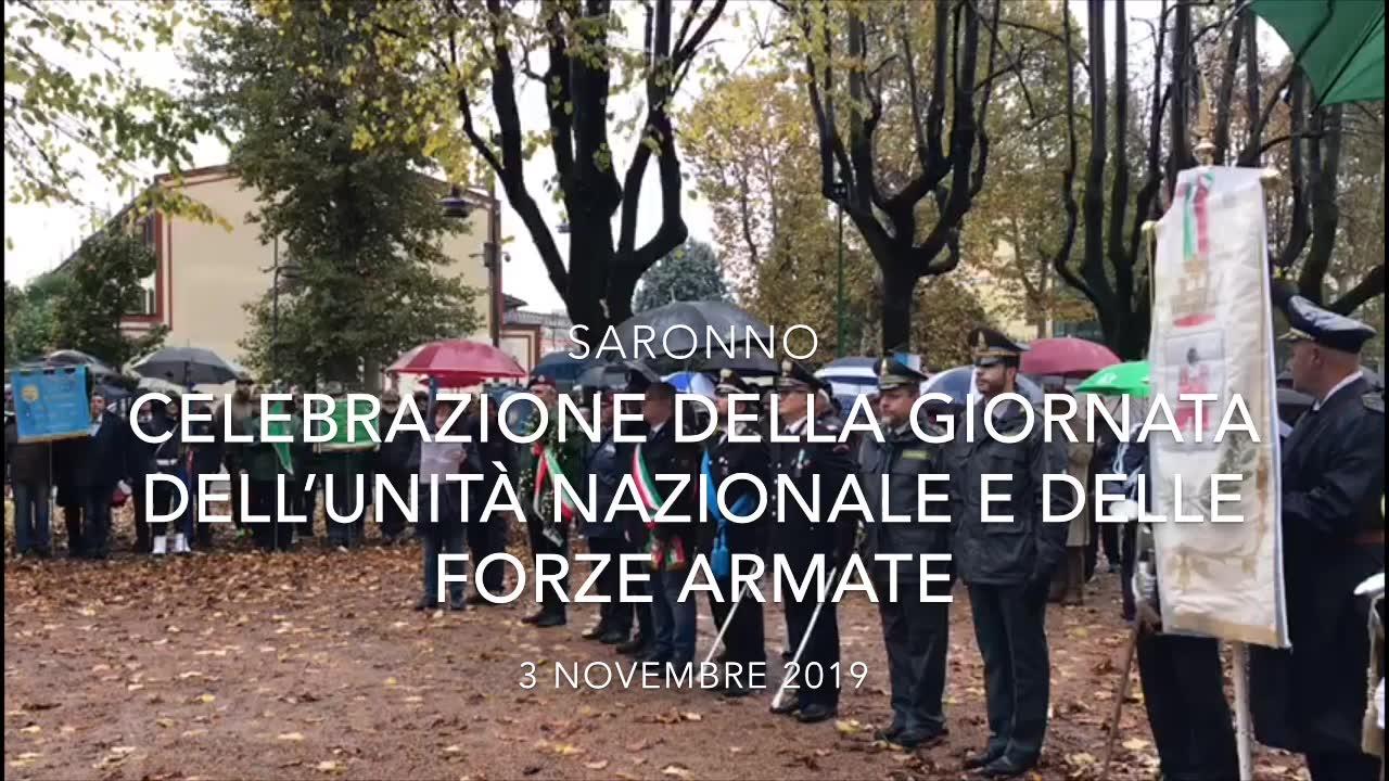 Video: La Giornata delle forze armate a Saronno