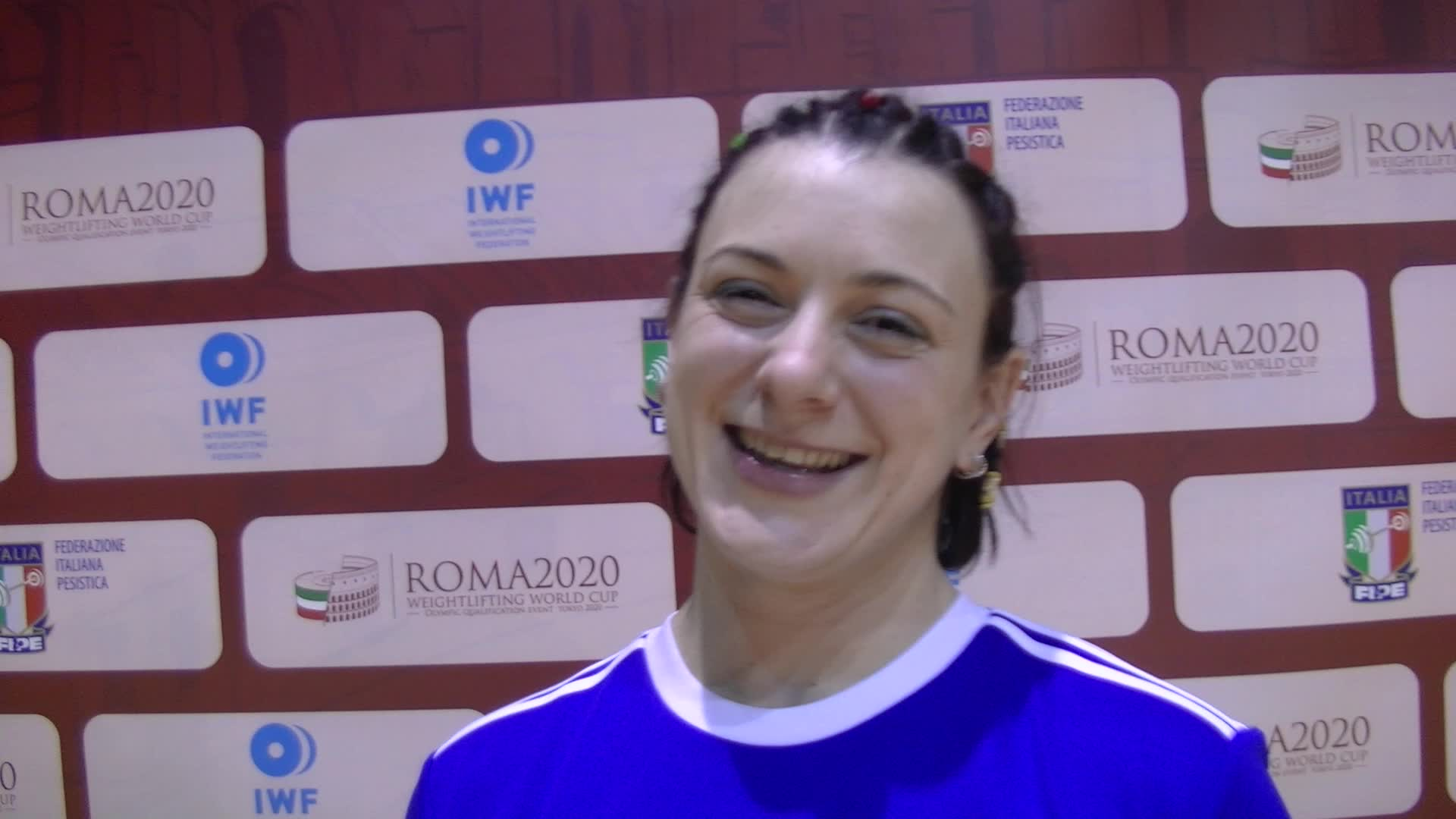 Video: Giorgia Bordignon festeggia i due bronzi in coppa del mondo