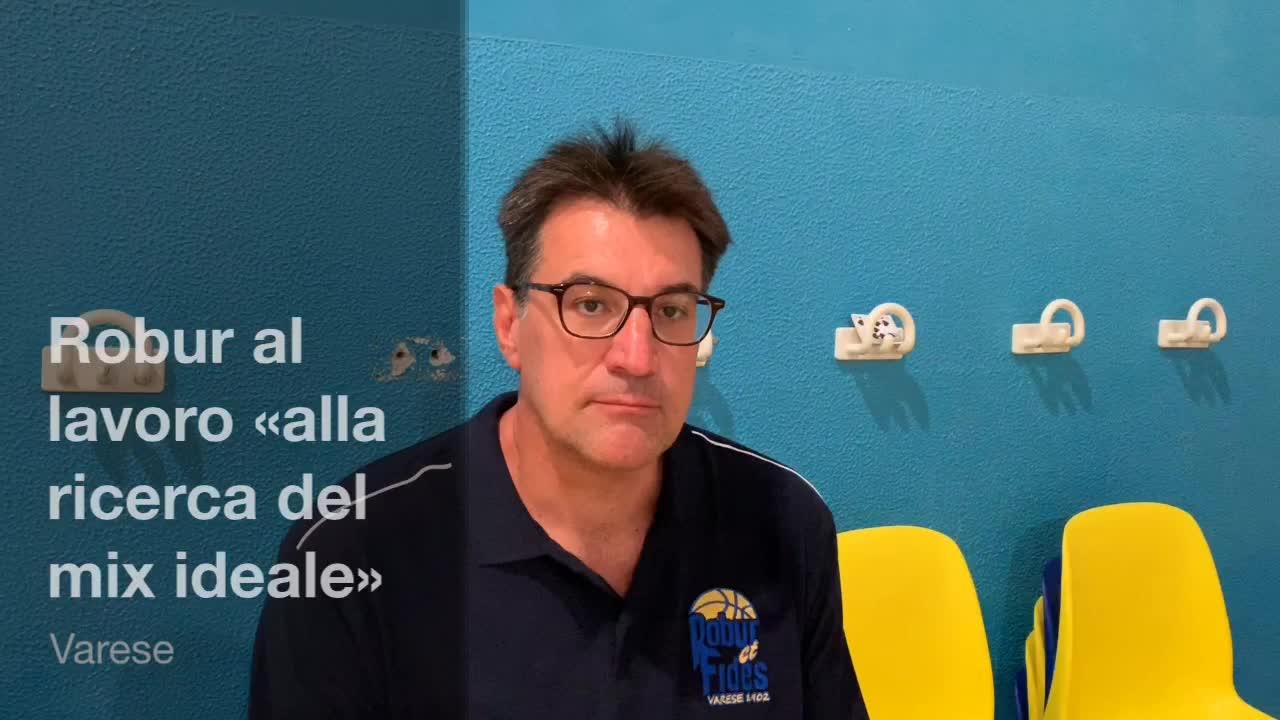 """Video: La nuova Robur di Cecco Vescovi: """"Al lavoro per formare il gruppo"""""""