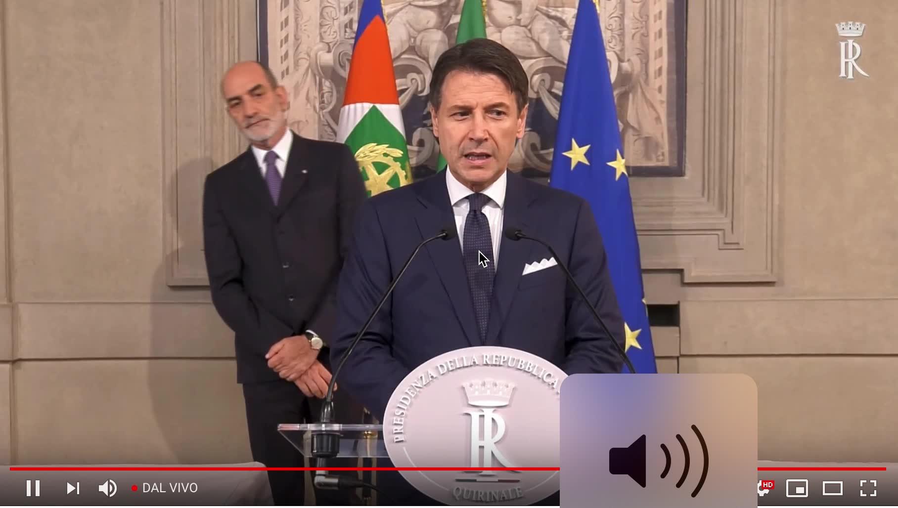 Video: I ministri del nuovo Governo Conte