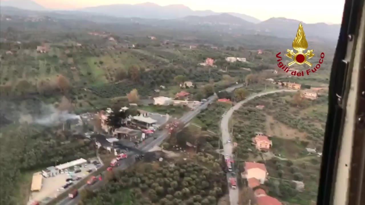 Video: Il luogo dell'esplosione sulla Salaria