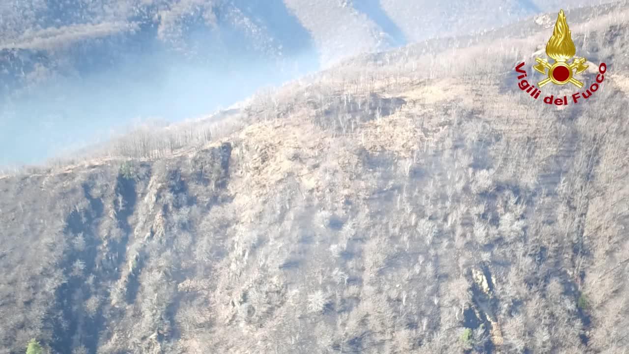 """Video: La settimana di fuoco sul Monte Martica è finita: """"Incendio spento"""""""