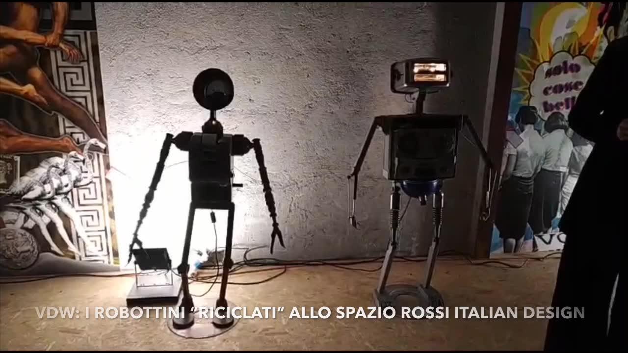 "Video: I ""robottini riciclati"" della Varese Design Week"