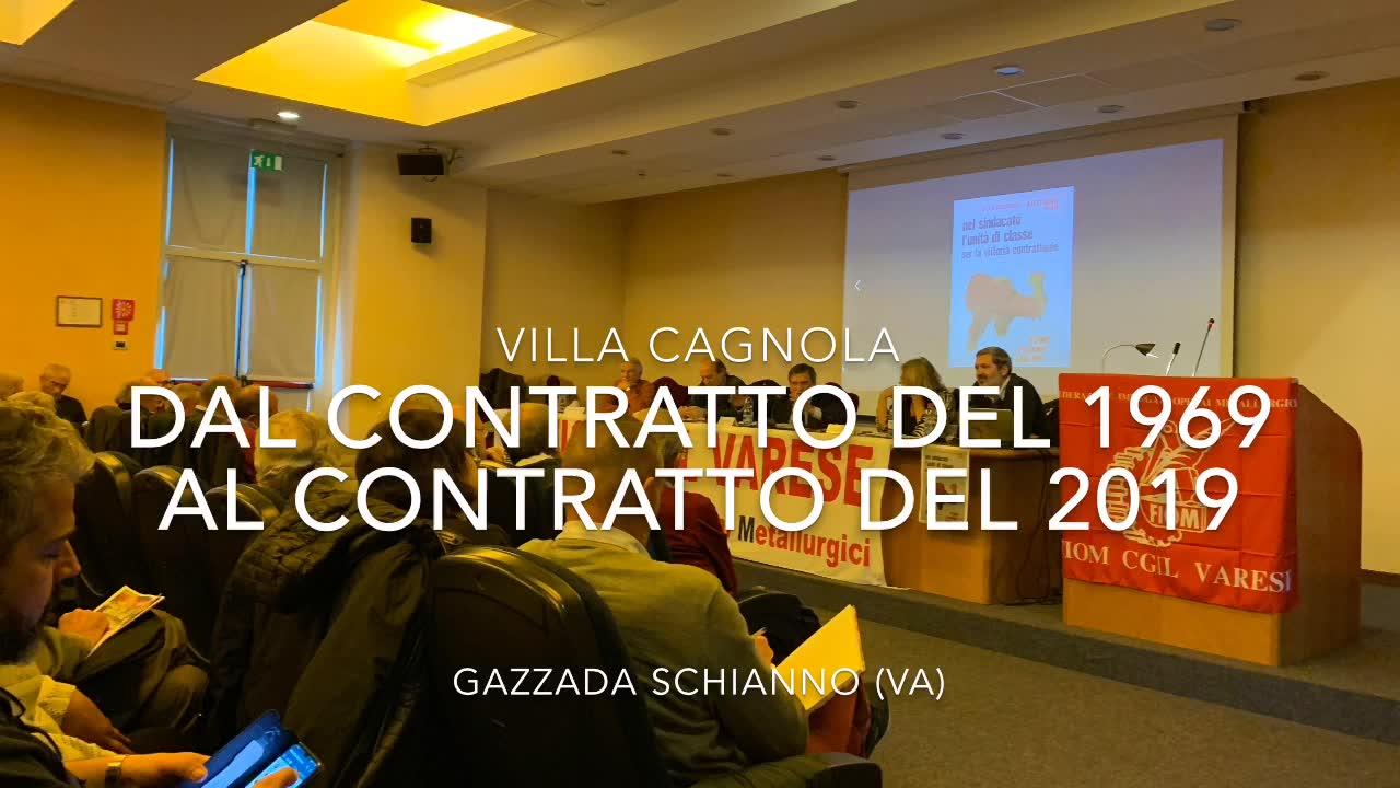 Video: Giorgio Benvenuto a Villa Cagnola