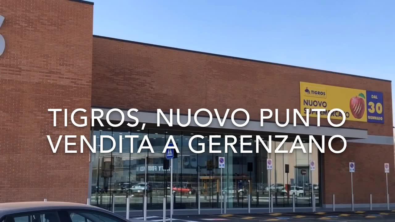 Video: Apre il nuovo punto vendita Tigros di Gerenzano
