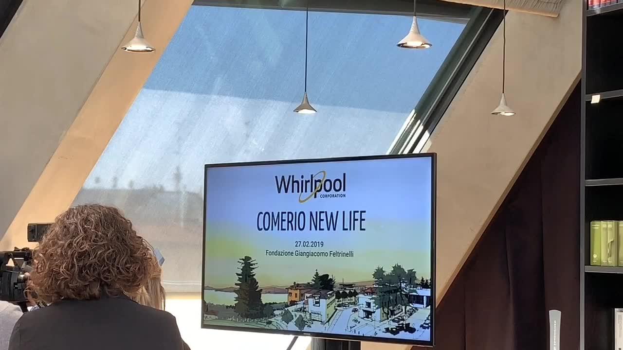 Video: Comerio New Life, il futuro dell'area Whirlpool