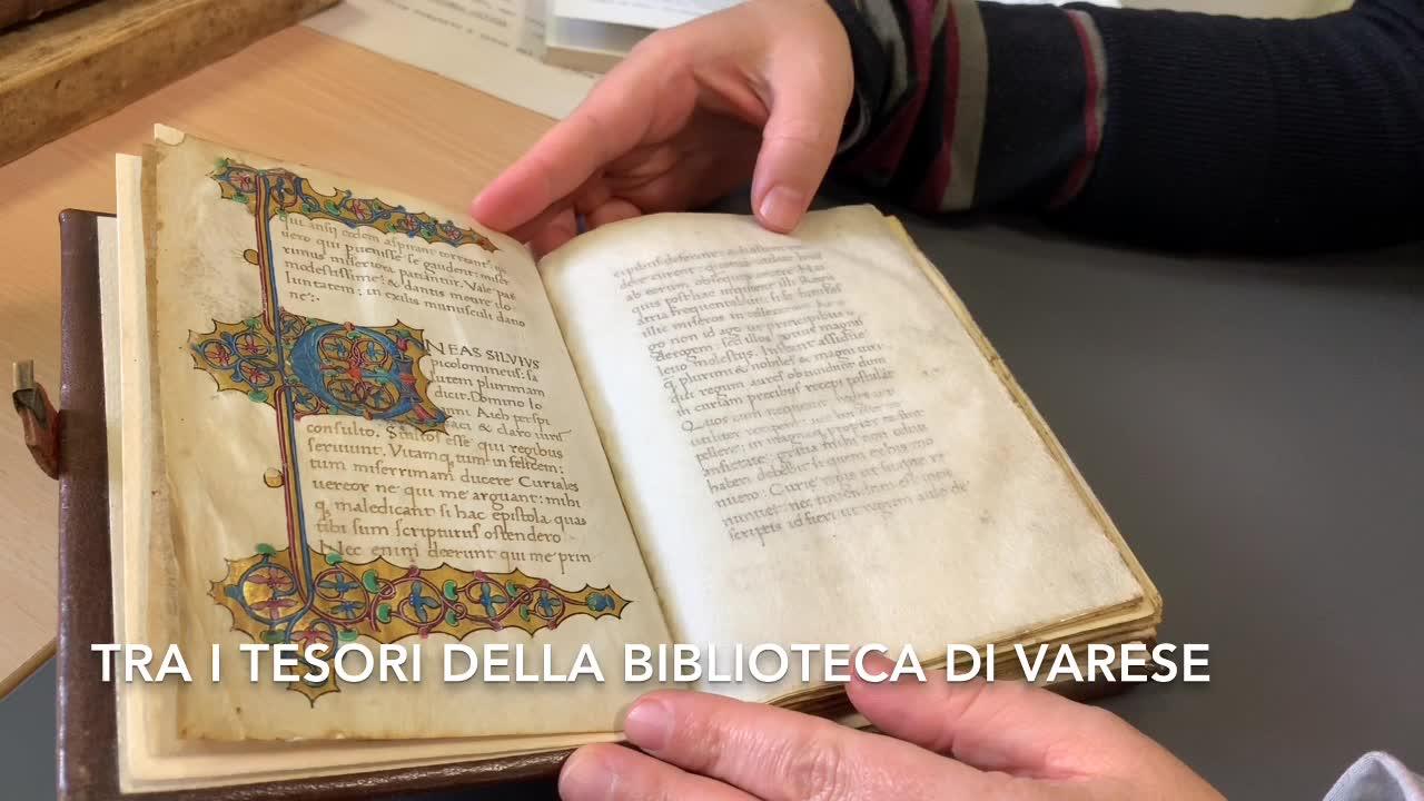 Video: Tutti da scoprire i segreti della Biblioteca Civica di Varese
