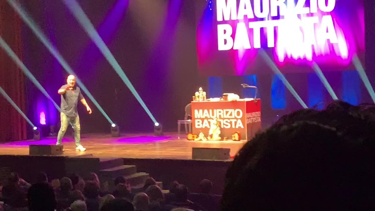 Video: Maurizio Battista a Varese