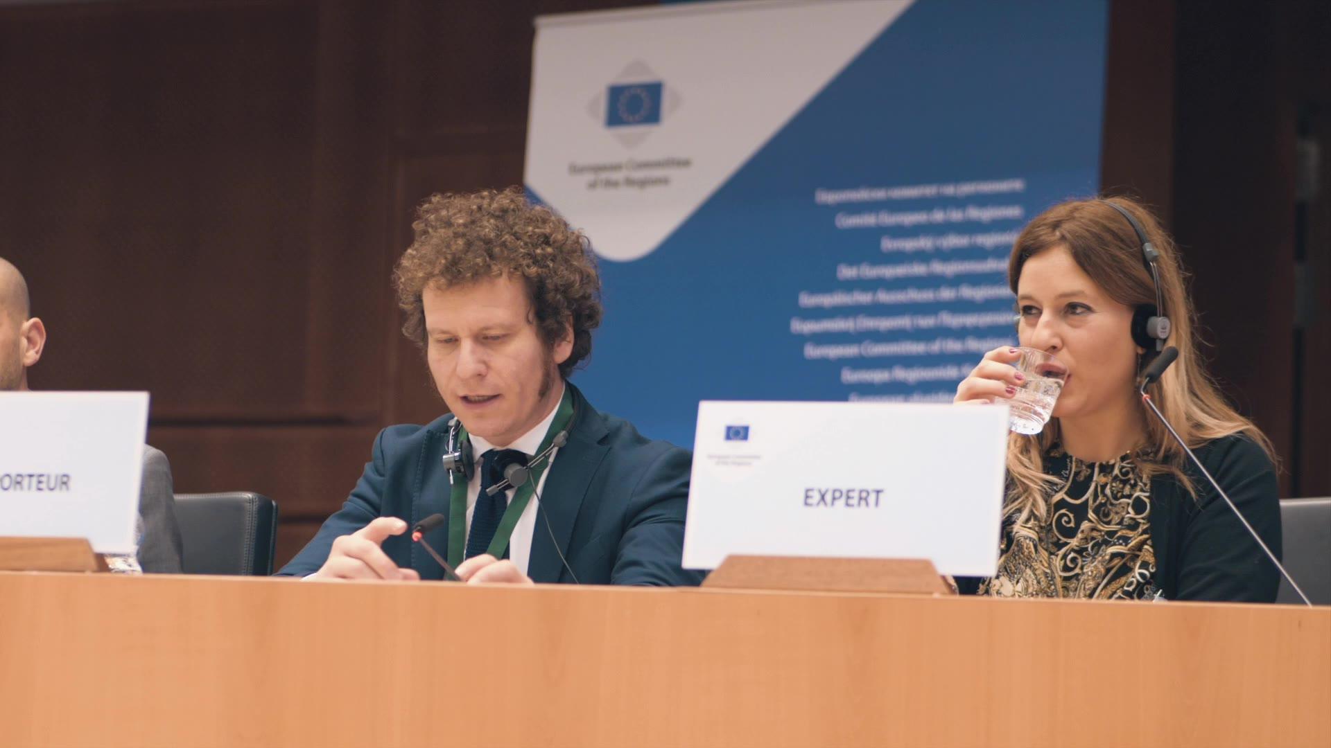 Video: La relazione di Bianchi al Comitato Europeo delle Regioni