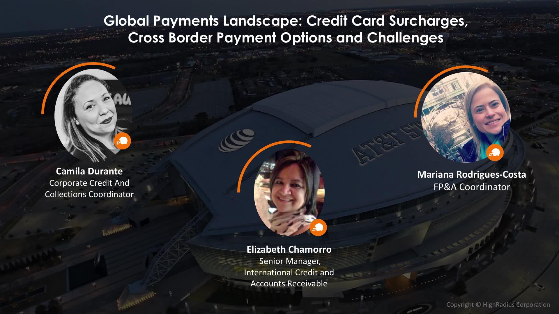 global payments landscape credit card surcharges cross