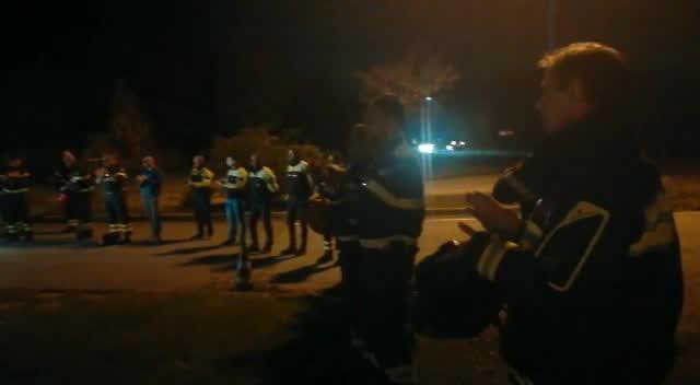 Video: I Vigili del Fuoco di Busto omaggiano i colleghi deceduti