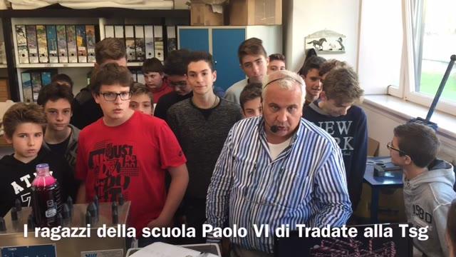 Video: Studenti in visita alla Tsg
