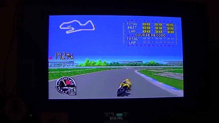 SNES / SFC - GP-1 Part II - NTSC - Great Britain [Fastest Race] - 03:05.8 - john brissie