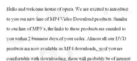 Opera MP4 Video Downloads