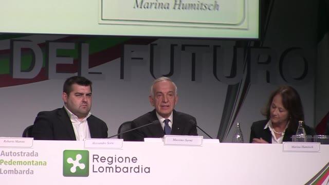 """Video: Massimo Sarmi: """"Ecco come funziona il free flow di Pedemontana"""""""