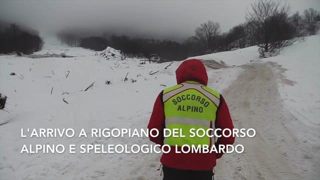 Video: Il soccorso alpino in azione a Rigopiano