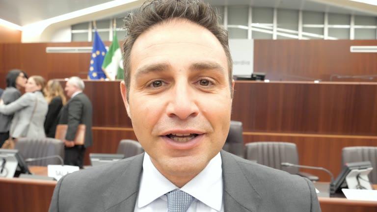 Video: Samuele Astuti n Consiglio regionale