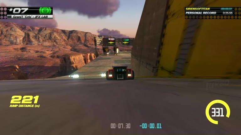 PlayStation 4 - Trackmania Turbo - White Series 07 - Fastest Time - 25.5 - Shaun Michaud