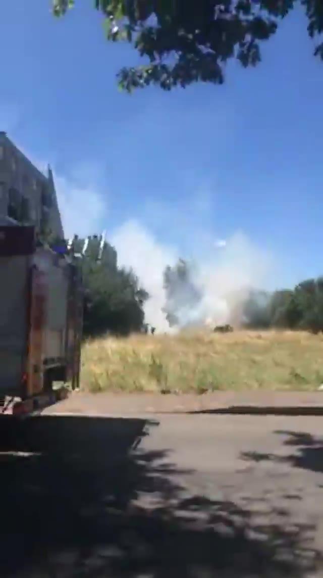 Video: Incendio a Busto Arsizio