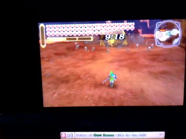 Nintendo 3DS - Hyrule Warriors Legends - Adventure Mode - Adventure Map - B8 - Defeat the Darknut Forces! LV.1 [Clear Time] - 01:35.0 - Rodrigo Lopes