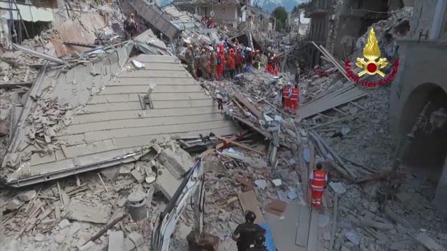 Video: La devastazione del terremoto