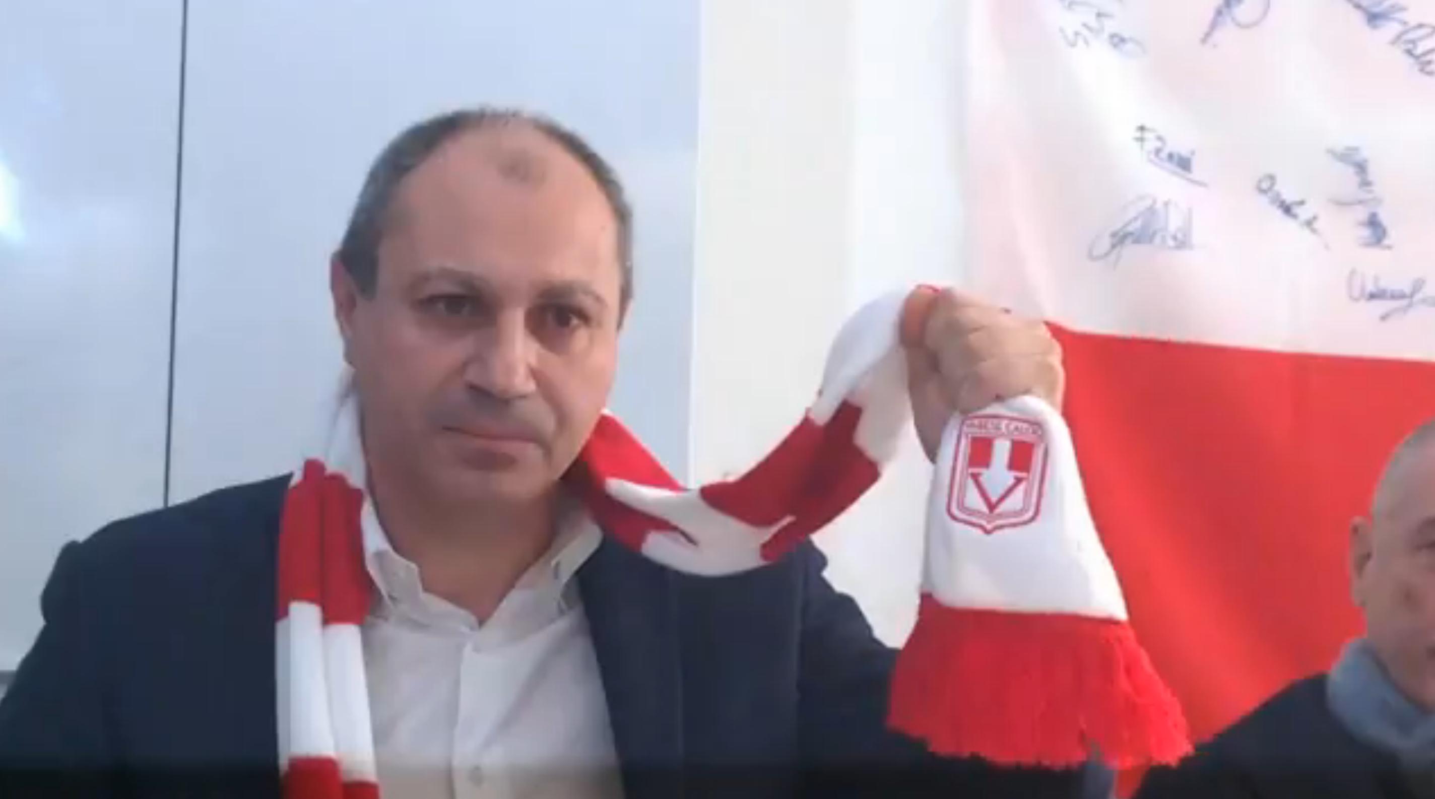 Video: Gabriele Ciavarrella annuncia le dimissioni