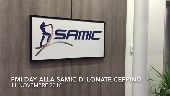 Video: Studenti in visita alla Samic