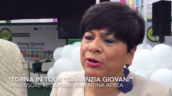 """Video: """"Garanzia Giovani tour"""": parla l'assessore Aprea"""