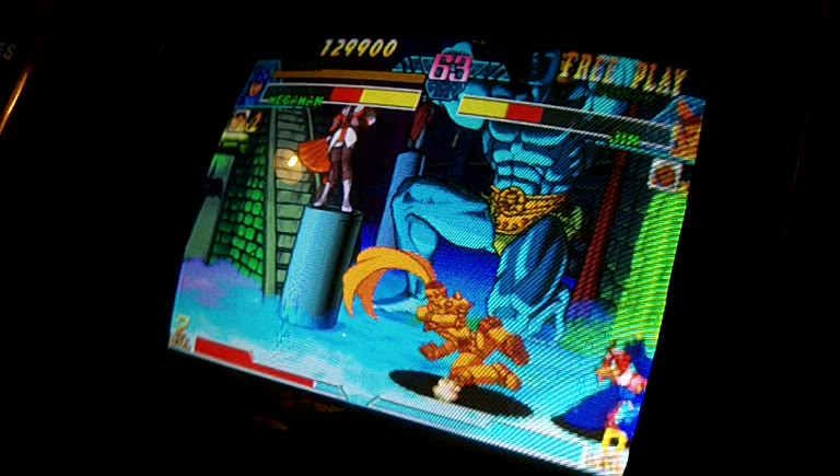 Arcade - Marvel VS Capcom - Points [Tournament Settings] - 2,119,000 - Pete Hahn