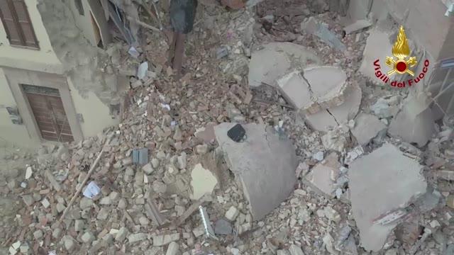 Video: Visso e Camerino dopo il terremoto