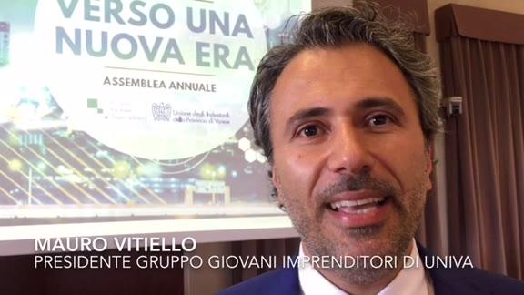 Video: Mauro Vitiello presidente dei Giovani imprenditori di Univa