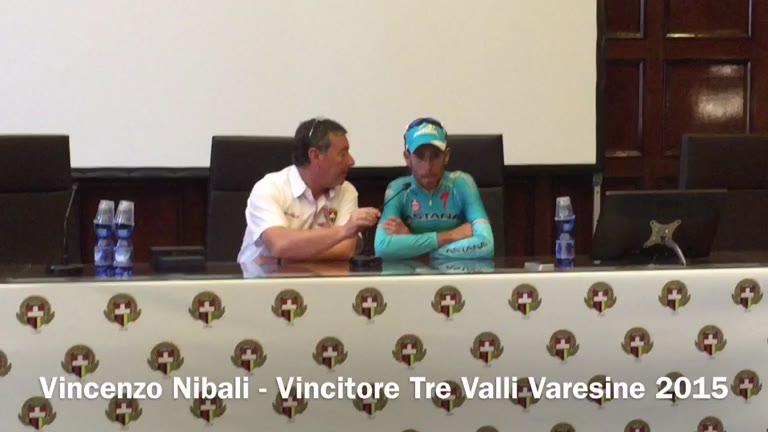 """Video: Nibali: """"Ho vinto grazie alla squadra"""""""