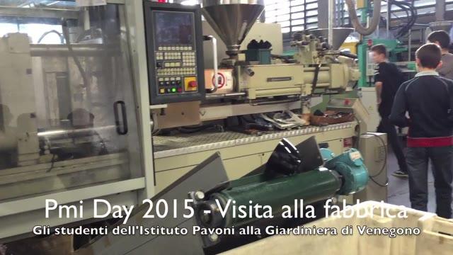 Video: Pmi Day 2015: visita alla fabbrica di occhiali